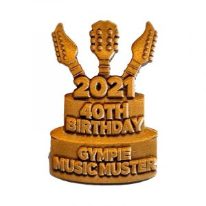 Gympie Music Muster 2021 Hat Pin