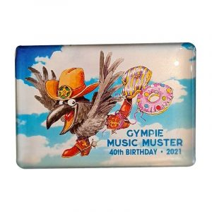 2021 Gympie Music Muster Magnet